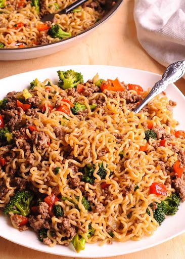 Healthy Ramen Noodles Stir Fry Recipe Yummly Recipe Healthy Ramen Recipes Healthy Ramen Noodles