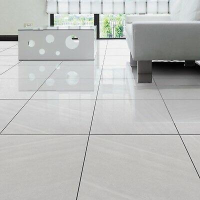 Grey Porcelain High Gloss Tiles Wall