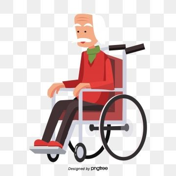 White Haired Red Haired Old Man In Wheelchair Wheelchair Clipart The Elderly White Hair Png And Vector With Transparent Background For Free Download White Hair Hair Png Red Hair