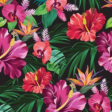 take me with you. Tropical print by belokrinitski