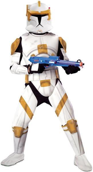 Commander Cody Costume Kids Clone Trooper Halloween Fancy Dress