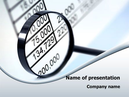 13 best financial and accounting presentation themes images on, Presentation templates