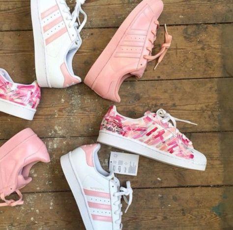 adidas superstar pink tumblr