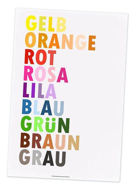 So Schön! Farbe in Deutsch