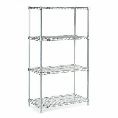 Ad Ebay Url 4 Tier Chrome Wire Shelving Starter Unit 36 W X 12 D X 63 H In 2020 Wire Shelving Shelving Shelving Unit