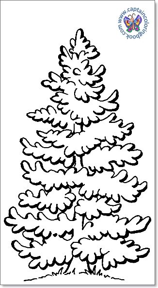 Pin On Tree Coloring Pages Free