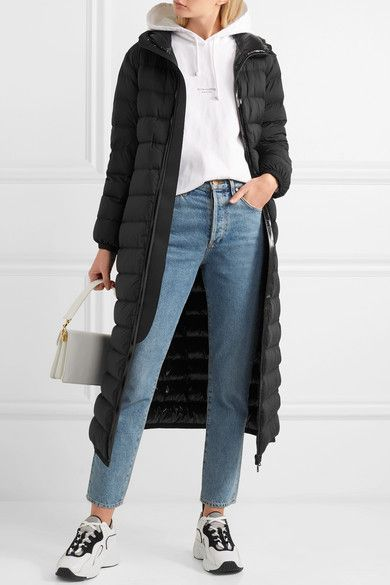 987098146 Moncler - Quilted shell down coat in 2019 | Shopstyle | Coat, Down ...