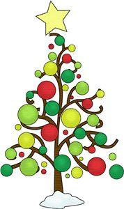 Silhouette Design Store Christmas Tree Contemporary Christmas Tree Clipart Christmas Drawing Christmas Art