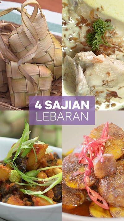4 Sajian Lebaran Resep Resep Resep Makanan Resep Masakan Indonesia Resep Masakan