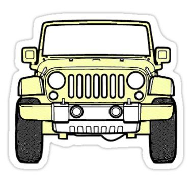 Jeep Aesthetic Drawing