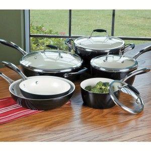 The Cookware Hub Ceramic Cookware Set Cookware Set Ceramic Cookware