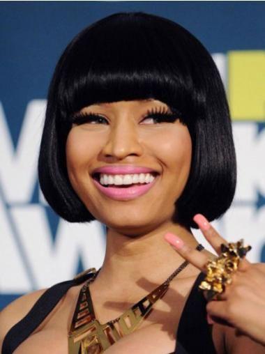 Capless Black Bobs Flexibility Nicki Minaj Wigs In 2020 Nicki Minaj Wig Nicki Minaj Hairstyles Short Hair Styles