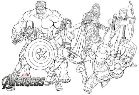 New Avengers Endgame Coloring Page For Marvel Fans Avengers Coloring Pages Marvel Coloring Avengers Coloring