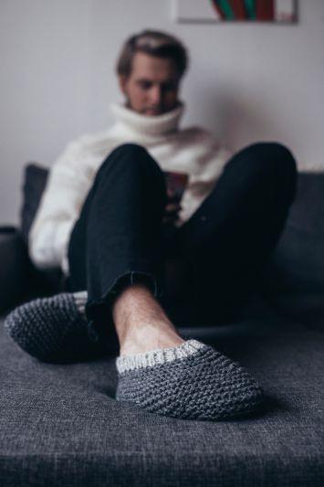 92375. Tofflor till små och stora fötter (med bilder