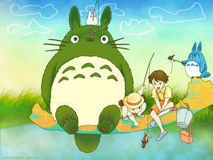 となりのトトロ 無料pcデスクトップ壁紙 画像集 ジブリ 高画質 Naver まとめ My Neighbor Totoro Studio Ghibli Totoro