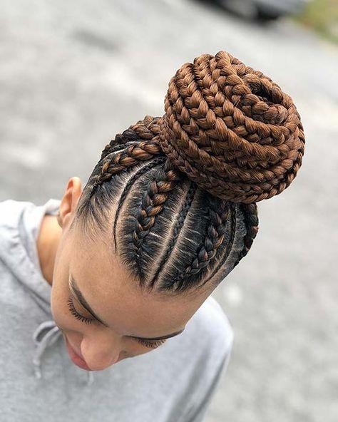 braided hairstyles for black women cornrows corn rows Box Braids Hairstyles, Braided Hairstyles For Black Women Cornrows, African American Braided Hairstyles, African American Braids, Black Women Hairstyles, Simple Hairstyles, Kid Hairstyles, Celebrity Hairstyles, Wedding Hairstyles