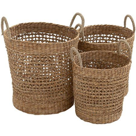 Home With Images Basket Sets Seagrass Basket Wicker