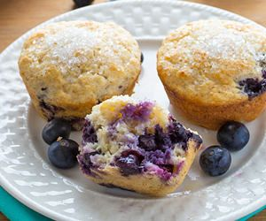 Healthy Blueberry Muffins Recipe With Images Buttermilk Recipes Buttermilk Blueberry Muffins Buttermilk Muffins