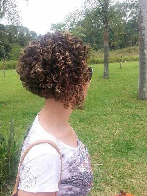 Excellent short curly hairstyle ideas with 20 pics, #curly #excellent #hairstyle #ideas #short #curlybobhairstyles