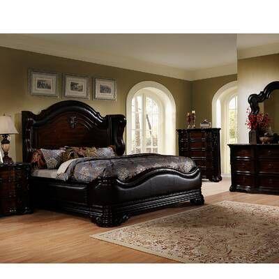 Fletcher Standard Bed Best Master Furniture 5 Piece Bedroom Set Bedroom Set