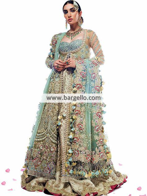 Luxurious Bridal Wear Bridal Lehenga Jersey City New Jersey NJ USA Elan Bridal Wear