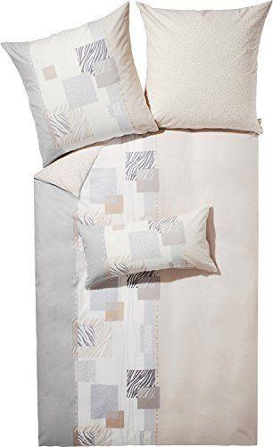 Traumhafte Bettwaesche Aus Biber Grau 155x220 Von Kaeppel 7