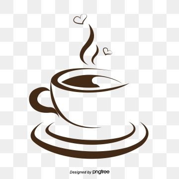 Coffee Painting Steaming Coffee Dining Png Transparent Clipart
