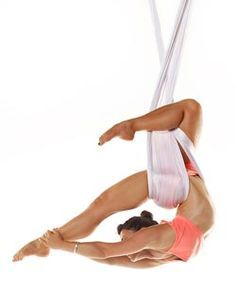 how to tie knots for an aerial yoga hammock   yoga   pinterest   aerial yoga yoga blends are a huge  fitness trend  this one u0027s name      rh   pinterest