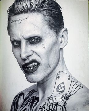 Imagen de joker, suicide squad, and jared leto --Be your own Whyld Girl with a…