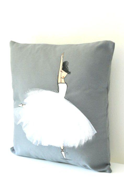 Nursery Cushion Cowl Ballerina Bedding