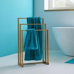 Handtuchhalter Mirella Modern Holz 48 80 16cm Modern Living Handtuchhalter Holz Handtuchhalter Badetuchhalter