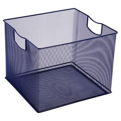 8 X 10 X 11 Wire Decorative Toy Storage Bin Navy Pillowfort Toy Storage Bins Pillow Fort Toy Storage