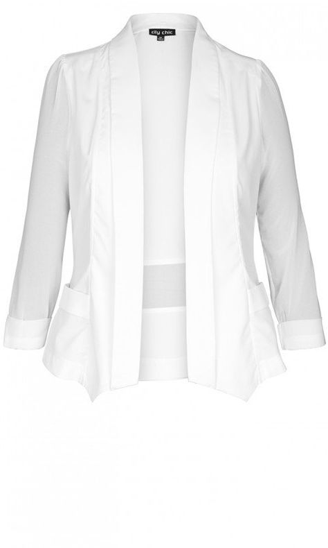 45587878eef17 Shop Women's Plus Size Drapey Blazer Jacket - Coats & Jackets | City Chic  USA