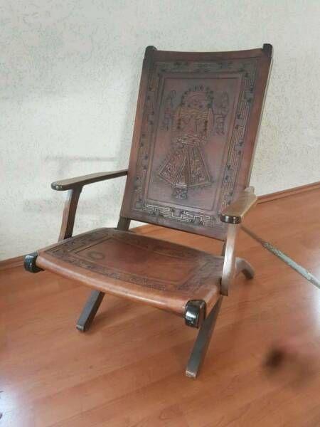 Toller Klapp Lederstuhl Aus Den 60er Wahrscheinlich Von Dem Equadorianischen Designer Pazmino Designer Stuhl Midcentury Zum Stuhl Design Lederstuhle Stuhle