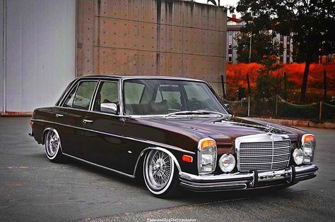 Mercedes Benz Classic Cars Stanceworks Amg W114 Ebs1903