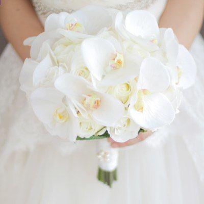 Bouquet Per La Sposa.Janevini Western Bouquet Da Sposa Per La Sposa Fiori Artificiali