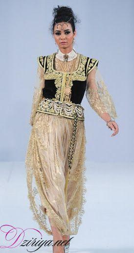 Fazia Djebbari honore la tenue algéroise lors de l'évènement Fashion Days Maroc