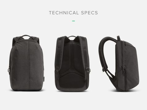6534142a465c Aer Fit Pack  The Gym Work Bag Designed for the City by Aer — Kickstarter