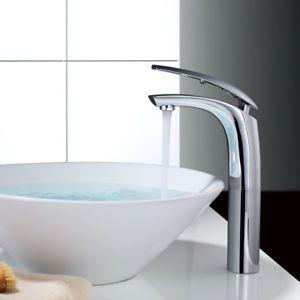 Design Mischbatterie Waschtisch Badarmatur Wasserhahn Fuer