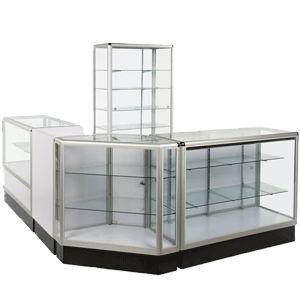 verre presentoir vitrine verre
