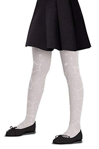 Circo Girls Footed Tights White Size 12-14