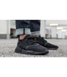 Sneakerscartel Com Adidas Nmd R1 Primeknit Japan Triple Black Releasing In August Sneakers Shoes With Images Black Adidas Shoes Sneakers Fashion Sneakers Men Fashion