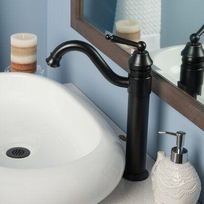 Century Single Hole Vessel Sink Bathroom Faucet Finish Oil Rubbed