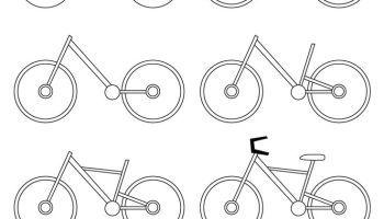 Aprendemos A Dibujar Una Bicicleta Aprender A Dibujar Dibujos Fáciles Bicicleta Dibujo