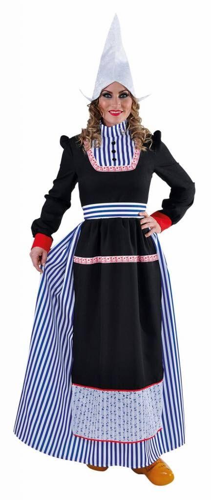 Wonderbaarlijk Volendams kostuum vrouw | Kostuum, Jurken, Mode SG-03