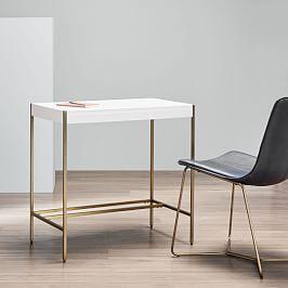 Mid Century Art Display Mini Desk West Elm Home Office Furniture Mid Century Mini Desk Furniture