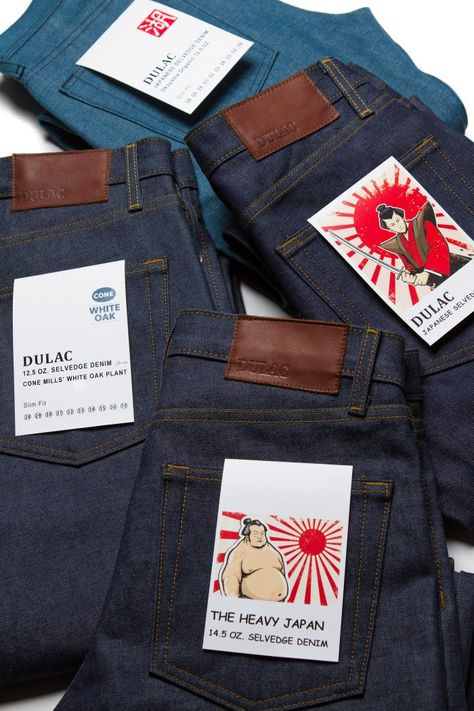 Introducing: DULAC an Internet Only Denim Brand