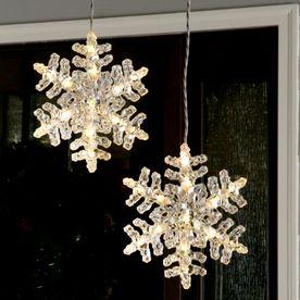 Sparkling Snowflakes Light Up Peacock Peacock Christmas