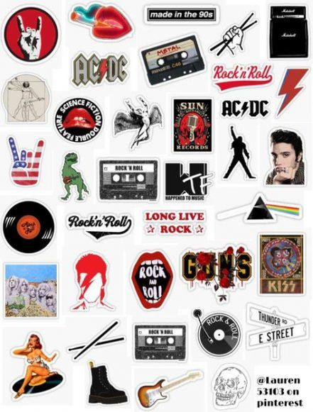 90s Aesthetic Wallpaper Vintage Laptop 53 New Ideas Music Stickers Band Stickers Iphone Case Stickers