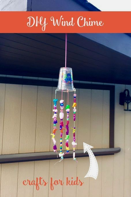 Free Crafts For Kids With Images Wind Chimes Craft Wind